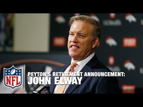 John Elway on Peyton Manning: