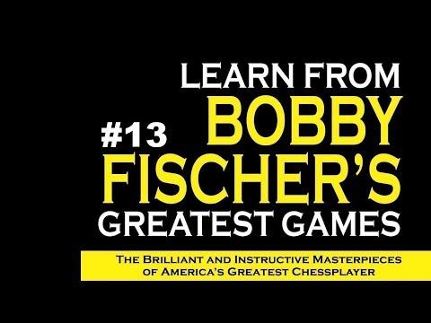 Bobby Fischer Vs J. Gloger - Cleveland (1964) #13