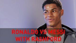 RIO AND RASHFORD… ON RONALDO V MESSI