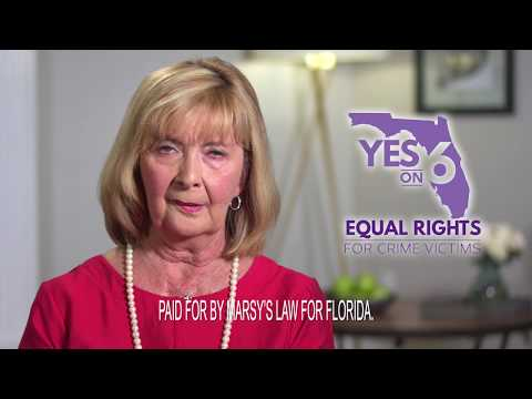 Crime Victims Need Equal Rights in Florida - Pat Tuthill