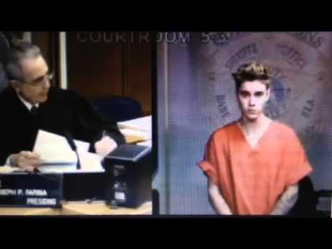 Justin Bieber's Court Case Hearing