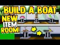 *NEW* PLUSHIE ROOM!!🌟(2021) | Build a boat for Treasure ROBLOX