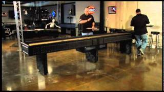 Shuffleboard Table Assembly