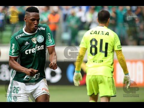 Palmeiras 2 x 1 Coritiba - GOLS MELHORES MOMENTOS - Campeonato Brasileiro -