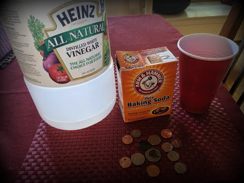 Cleaning Coins With Baking Soda & Vinegar — See How Well This Method Works
