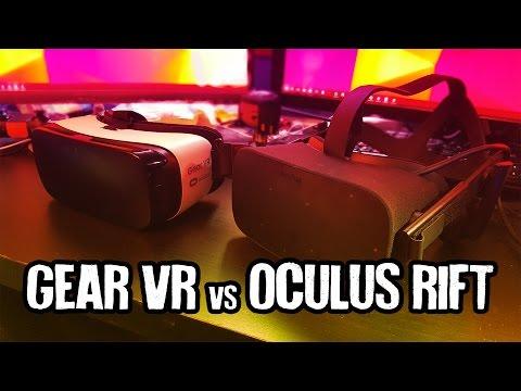 Oculus Rift CV1 vs Gear VR Smackdown!