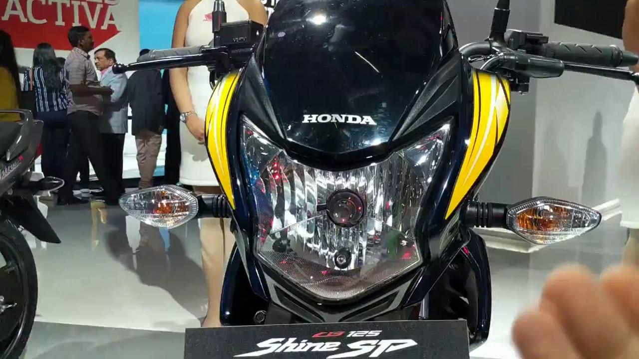 2018 Honda CB Shine SP Review in Hindi | Auto Expo 2018 ...