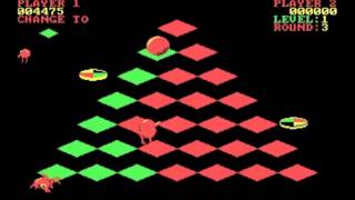 Q-bert - PC Game 1984