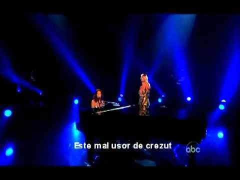 Sarah McLachlan & Pink - In The Arms Of An Angel/Live(tradus romana)Romanian subtitled.