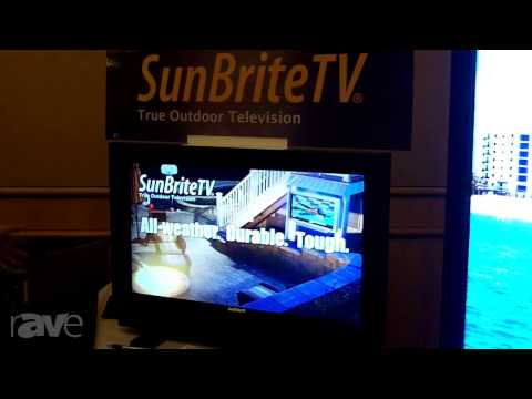 E4 AV Tour: SunbriteTV Features Marquee Series Outdoor Displays with Touch