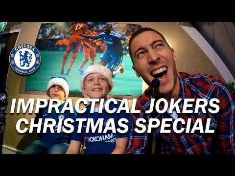 Chelsea's Impractical Jokers feat. Eden Hazard & Thibaut Courtois