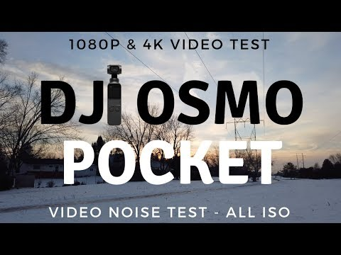 DJI Osmo Pocket VIDEO TEST IN ALL RESOLUTIONS & FRAME RATES - Quality, Dynamic Range, Noise Test