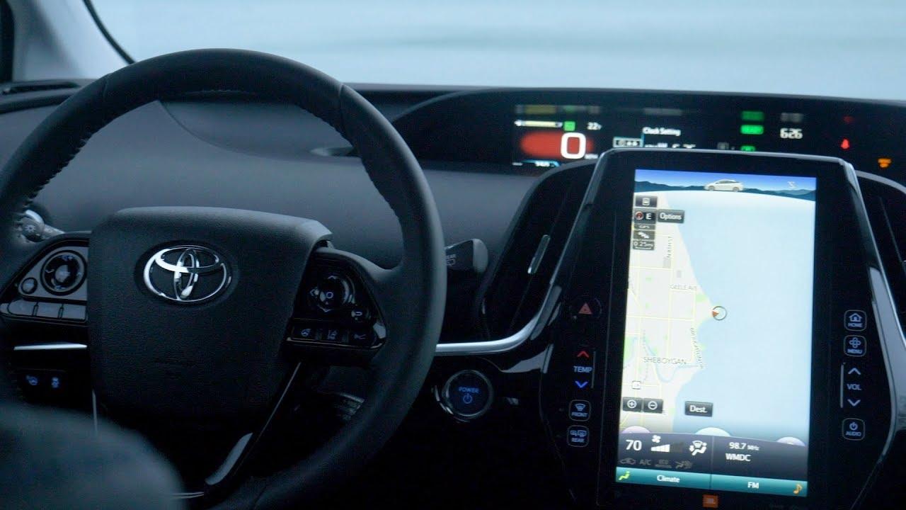 2019 Toyota Prius Limited Interior Youtube