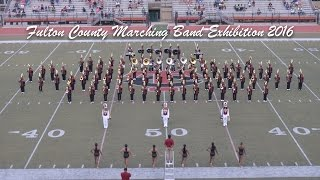 creekside marching band 2016 17 fulton county marching exhibition