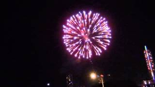 4th of July 2012 Fireworks show - Austin Texas