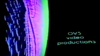 OVS Video Productions - 1981 - Frightening VHS ident