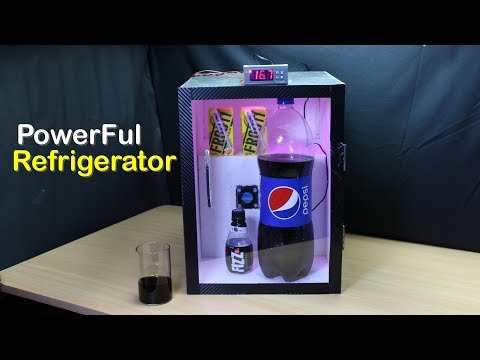 How to Make Refrigerator at home