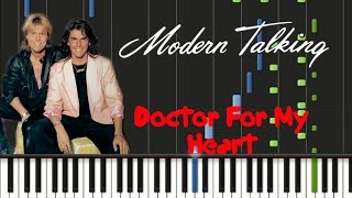 Modern Talking - Doctor For My Heart [Synthesia Tutorial]