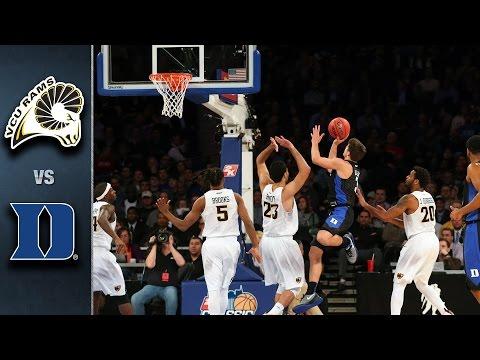 Duke vs. VCU Basketball Highlights (2015-16)