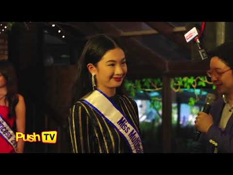 "Push TV: Miss World candidates to Laura, Winwyn: ""The Philippines has a great chance (of winning)"""