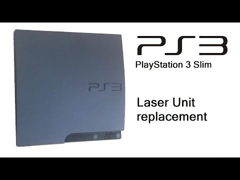 PlayStation 3 Slim - Laser Unit (Laser and Mechanism) replacement