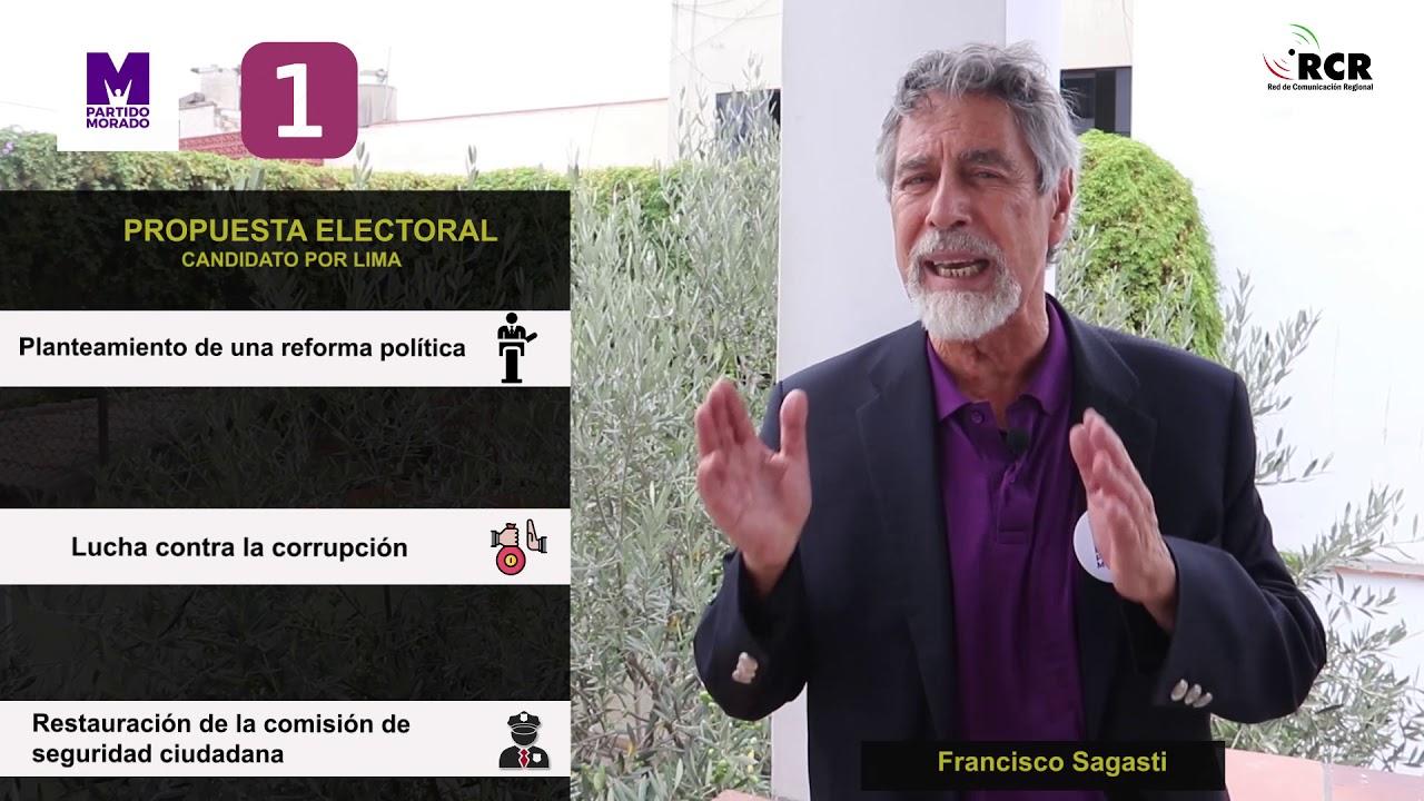 Francisco Sagasti - Candidato por Lima - YouTube