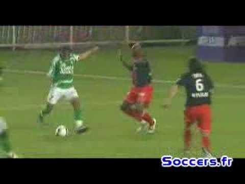 37ème journée 2007-2008 L1 PSG Saint-etienne 1-1 Perrin