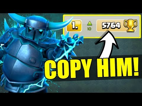 I COPIED THE #1 PLAYER IN THE WORLD! - Clash Of Clans - DOES IT WORK!?