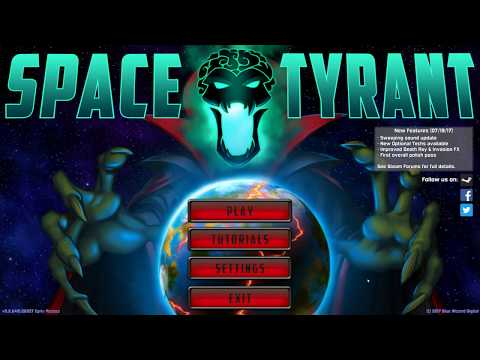 Space Tyrant - A Space Strategy Game For The Impatient