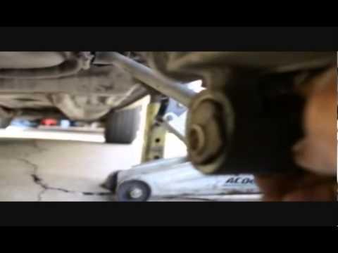 98 Camry Trailing Arm Bushings Youtube