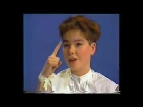 Björk Guðmundsdóttir,  Kukl Early Icelandic Interview 1984 Remastered