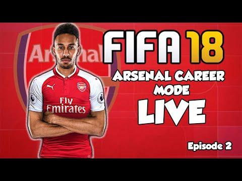FIFA 18 LIVE Arsenal Career Mode #3