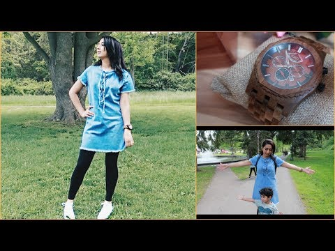 Picnic Day || OOTD || GIVEAWAY || Jord Watch Review ||