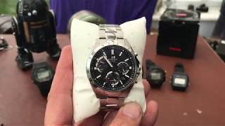 Casio Edifice unboxing and review