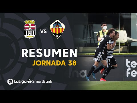 Cartagena Castellon Goals And Highlights