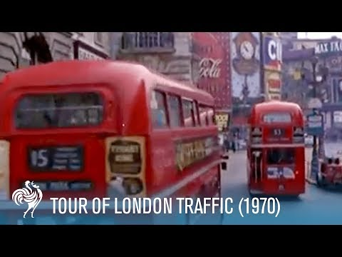 Tour of London Traffic: Double-Decker Buses & Black Cabs (19