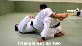 Sampa Brazilian Jiu Jitsu Covina – Ryan Gracie Jiu Jitsu Black Belt – 3 Triangle set ups