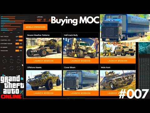 Buying Mobile Operation Center Missions Severe Weather Patterns Agent 14 GTA 5 Online