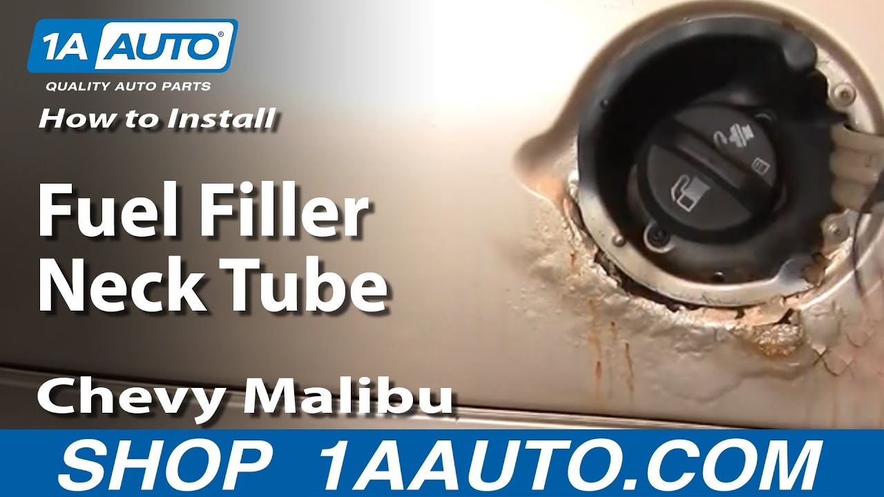 How To Install Replace Fuel Filler Neck Tube Chevy Malibu 97-03 1aauto Com