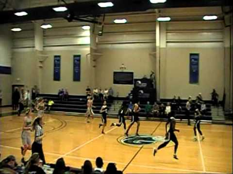 Warner University vs. Ave Maria WBB 1st half