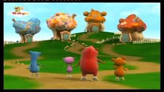 BABYTV - LOS CUDDLIES juegan en un columpio