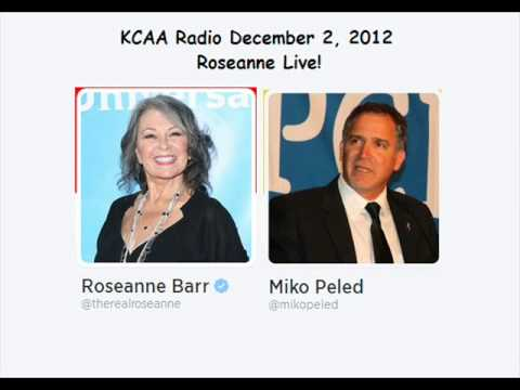Roseanne Barr interview with Miko Peled Israel Palestine