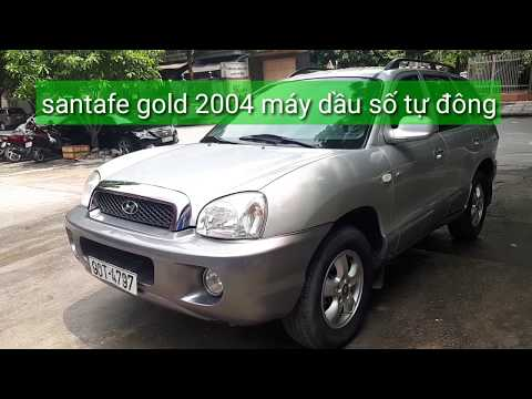 Santafe gold 2004 máy dầu hộp số tự động