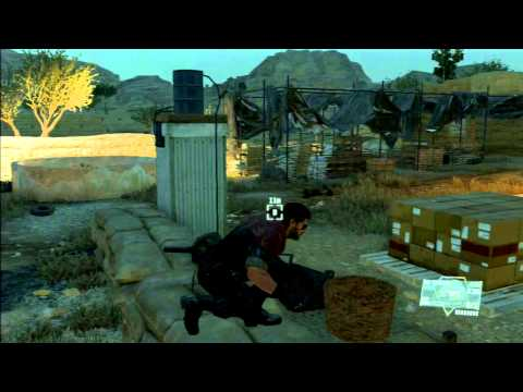 Metal Gear Solid V: The Phantom Pain (Part 9)(PS3) Extracting Prisoners