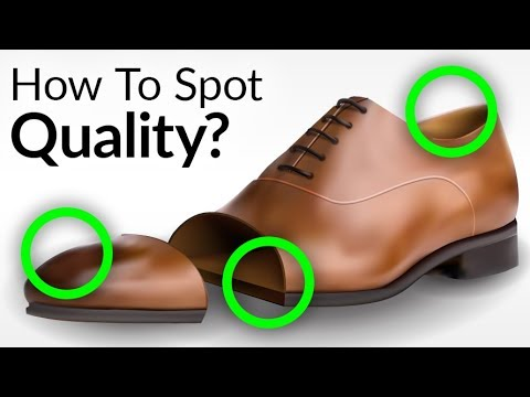 Bad Vs Quality Dress Shoes Construction   Cementing Vs Blake Stitch Vs Goodyear Welt   Shoe Design