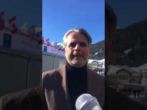 Nik Lazanas - WEF Forum Davos 2018 on CO2 Emissions and USA