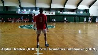 Handball. U17 boys. Sarius cup 2017. Tatabanya KC (HUN) - CS Alpha Oradea (ROU) - 23:9 (2nd half)