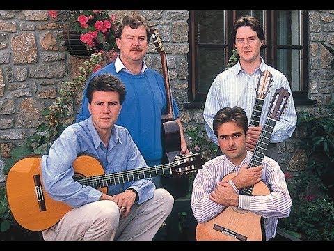 English Guitar Quartet - J.S. Bach's Passacaglia in C (BWV 582)