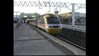 British Rail 1997-Stafford with classes 31, 37, 47, 86, 90, Inter-City 125 HST, 310 & 323