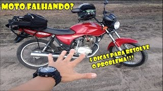 Moto Falhando Veja Essas 5 Dicas Para Solucionar thumbnail